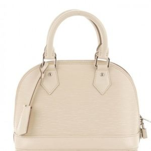 c5c740cd41f5 Louis Vuitton Bags - LOUIS VUITTON Epi Alma BB Ivoire Ivory